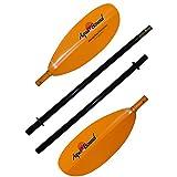 Aqua-Bound Manta Ray Fiberglass 4-Piece Snap-Button Kayak Paddle