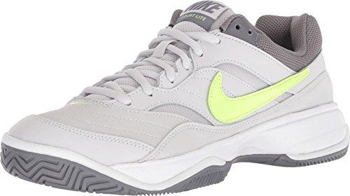 NIKE Court Lite Womens Tennis Shoe (9.5 B US, Vast Grey/Volt Glow/White/Gunsmoke)
