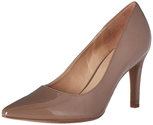 Franco Sarto Women's L-Amore Dress Pump, Blush Taupe, 10 M US (Franco Sarto Patent Leather Shoes)