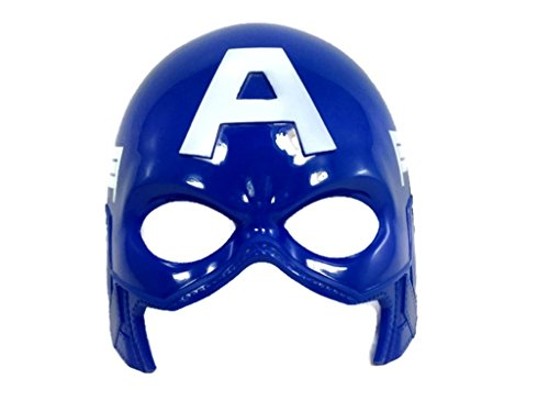 Mask Adult America Captain (Superhero Basic Mask :BM (Captain)