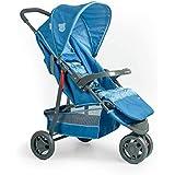 Carrinho De Bebê Delta Pet, Voyage, Azul
