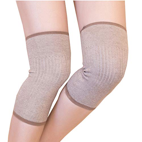 Bcharm Knee Pads Cashmere Wool Knee Protection Sleeves Knee Warmers (003)