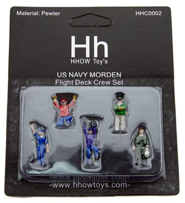 USN Carrier Deck Crew 5-Piece Set (1:72); CWHHC0002 ()