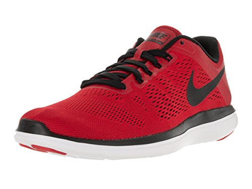52217e15b329a Galleon - Nike Men s Flex 2016 Rn University Red Black White Black Running  Shoe 10 Men US