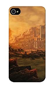 Crazinesswith Durable Diablo Iii Back Case/ Cover For Iphone 5/5s For Christmas' Gifts