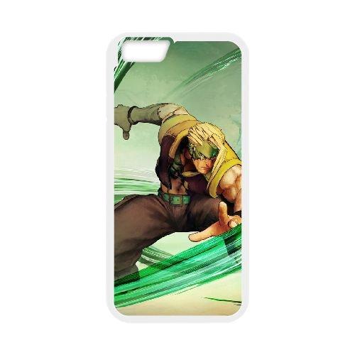 Street Fighter V 7 coque iPhone 6 Plus 5.5 Inch cellulaire cas coque de téléphone cas blanche couverture de téléphone portable EEECBCAAN03201