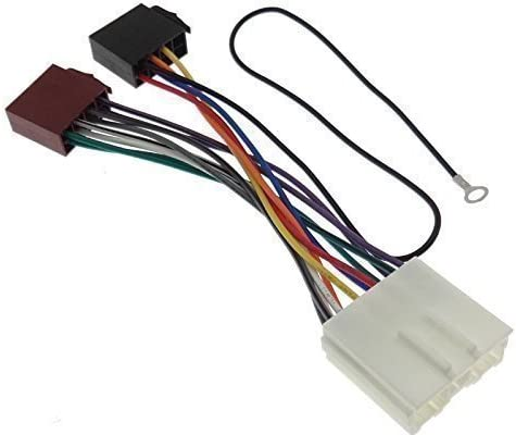 cable SET adaptador ISO Ford Focus instalación auto radio diafragma