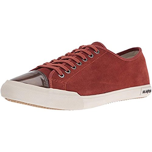 Seavees Heren 08/61 Army Issue Low Wintertide Fashion Sneaker Rood