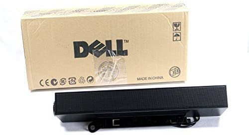 New Dell 313-6412 AX510 Flat Panel Stereo Soundbar for Dell P and U Displays Only 468-7412
