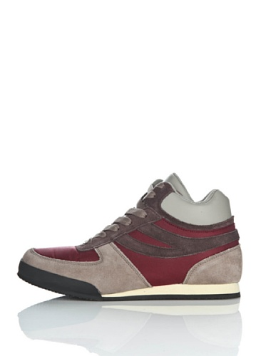 Sneakers - 4430-suecordu Bordeaux-Sand-DkChoc