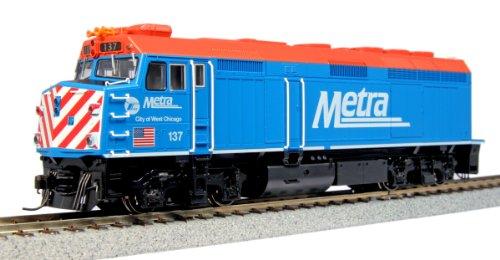 Kato USA Model Train Products 137 EMD F40PH Chicago Metra City of West Chicago Locomotive -