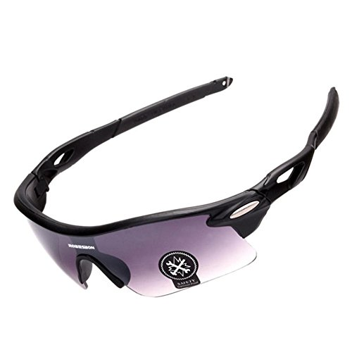 3e90bd6390ea Gloous Polarized Sports Sunglasses Outdoor Cycling Running Driving Fishing  Golf Baseball Glasses (H)