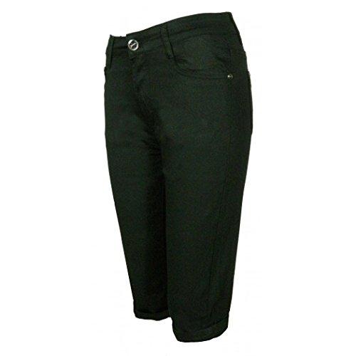 Pantacourt DW2468 - couleur : noir - Taille : 46
