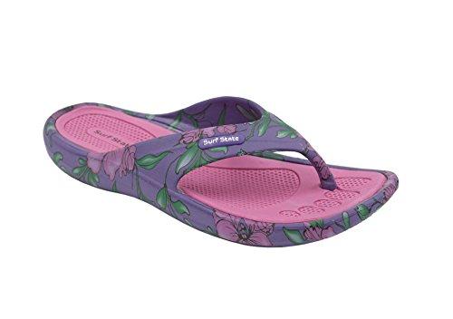 EVA Ladies Flip State Surf Flops Lightweight Pink t4wz5q