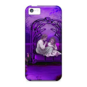 Series Skin Cases Covers For Iphone 5c(memory Of Childhood In Purple)