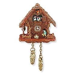 Dollhouse Miniature Black Forest Cuckoo Clock