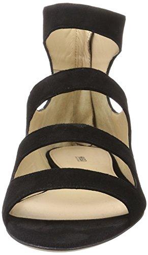 Hugo Nero 1 Zeppa black Sandali Con 10195652 01 Donna Dalia rFxvqr