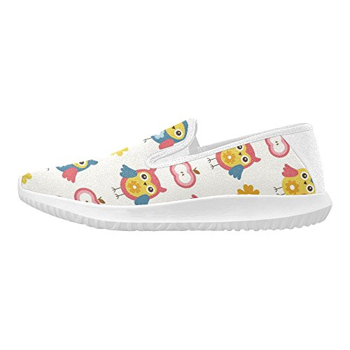 InterestPrint Cute Baby Pattern Womens Slip-On Loafer Shoes Canvas Fashion Sneakers Multi 1 laHBiXbqPv