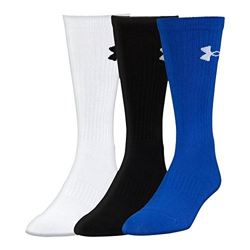 Under Armour UA Performance Crew - 3-Pack LG Royal by Under Armour