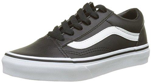 Vans black De Skool Old Zapatillas true Tumble Whiteclassic Unisex Entrenamiento Niños Negro 11qBTwr
