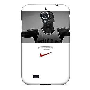 BrianLee Galaxy S4 Hybrid Tpu Case Cover Silicon Bumper Michael Jordan Sport