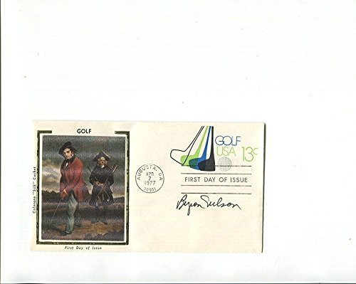 Byron Nelson Hand Signed Fdc+coa Golf Legend Masters Champion Golf Cut Signatures