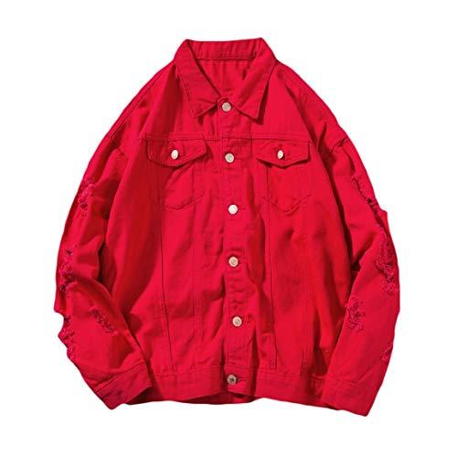 Classica Rossa Maschile Juniores Outwear Angelspace Foro Cowboy Autunno Sciolti PnzdW0qPxp