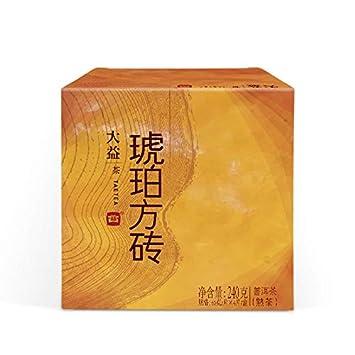 Amazon.com : TAETEA Amber PU'ER TEA Organic Black Tea Brick Ripe Tea on amazon home, amazon hammocks, amazon fire pits, amazon wall art, amazon lamps,