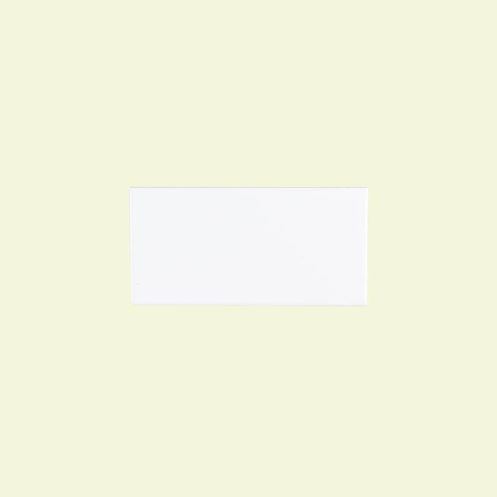 Jeffrey Court Fresh White 3 in. x 6 in. Ceramic Field Wall Tile (12.5 sq. ft./case)