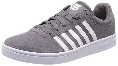K-Swiss Herren Court Cheswick Sde Sneaker Grau (Charcoal/White)