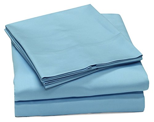 400 Thread Count 100% Cotton Sheet Set, Soft Sateen