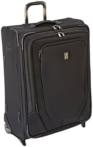 (Travelpro Crew 10 26 Inch Expandable Rollaboard Suiter, Black, One Size)