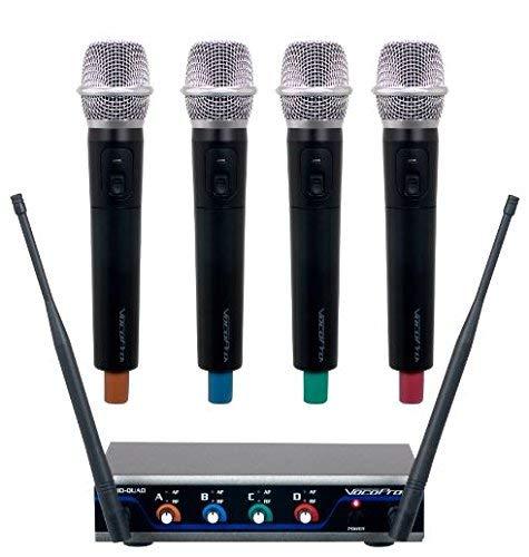 Microphone Wireless 900mhz (VocoPro A- A-B Box (HYBRID-QUAD-H4))