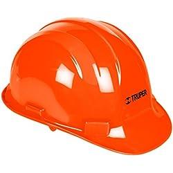 Truper CAS-N, Casco de Seguridad, Color Naranja