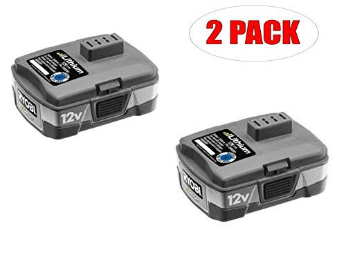Ryobi CB120L 12V 1.6Ah Lithium-ion Battery (2-PACK)