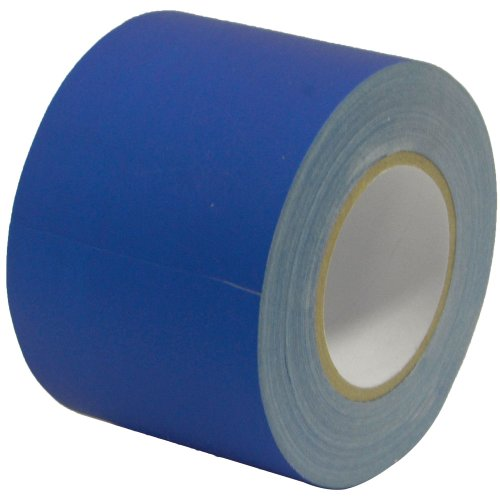 Seismic Audio Blue604 4-Inch Blue Gaffer's Tape by Seismic Audio