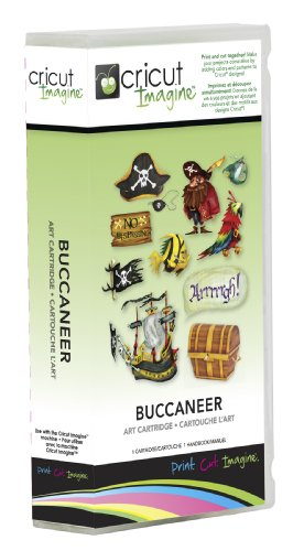 - Cricut 2001036 Imagine Art Cartridge, Buccaneer