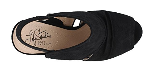 Lifestride Womens Cassia Pump Nero Micro