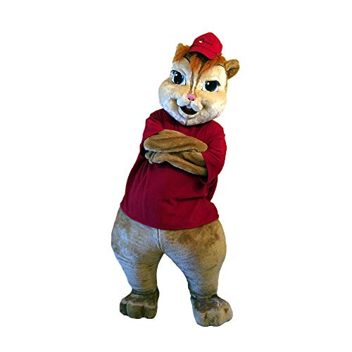 (Alvin and The Chipmunks Mascot Costume Character Cosplay Party Birthday)