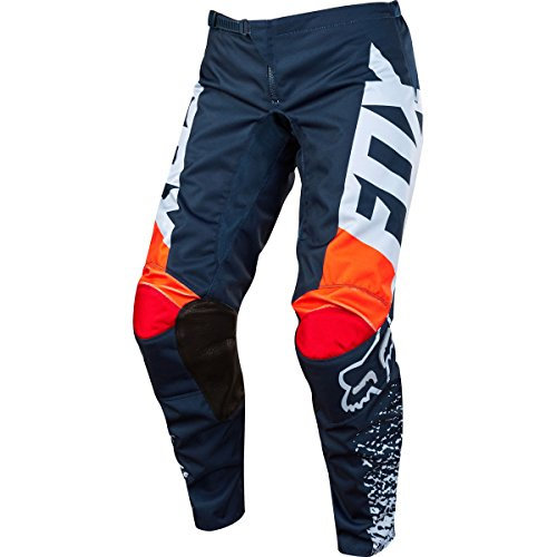 2018 Fox Racing Kids Girls 180 Pants-Grey/Orange-K5 by Fox Racing