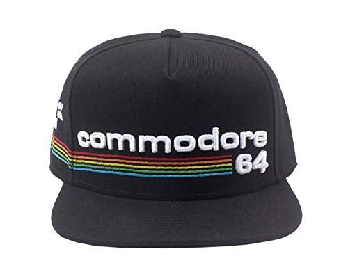 Commodore 64 Rainbow Logo Snapback Cap, Officially Licensed
