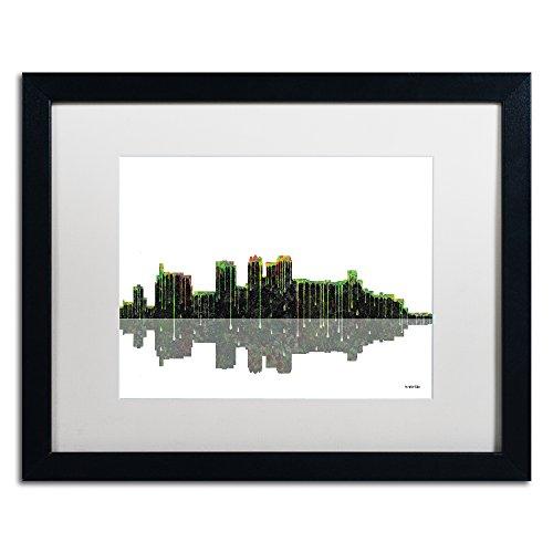 (Birmingham Alabama Skyline II by Marlene Watson Artwork, 16 by 20