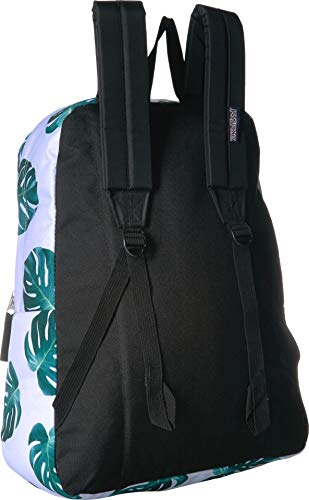 lower price with speical offer best sale JanSport Unisex SuperBreak¿ White Monstera Leaves One Size