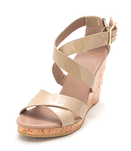 Cole Haan Womens Wendysam Open Toe Casual Platform Sandals Tan z6p75kdi