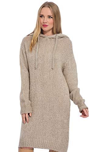 Mohair Robe Pull Arty Blush Beige À Femme En Capuche qTwRzgR4