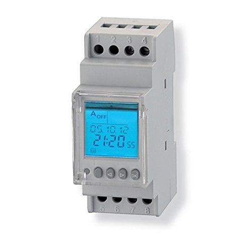 1 opinioni per Interruttore orario digitale modulare 2 Relè TM2- GECA 32061951