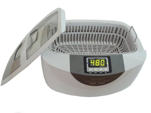 iSonic® Professional Grade Ultrasonic Cleaner P4820-WPB with Heater and Digital Timer