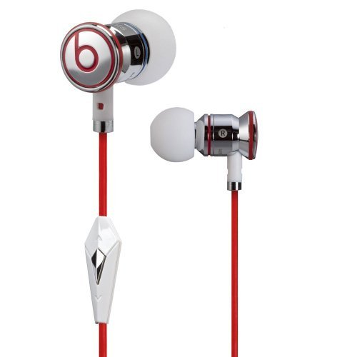 Monster Beats by Dr Dre iBeats Headphones with ControlTalk (iBeats White) (Supplied with no retail packaging)