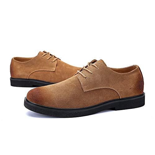 Hommes Yajie Rétro Pour shoes Habillées Mode Simples Eu Chaussures À Marron Taille Marron 40 color Occasionnels La 8Brw8qS