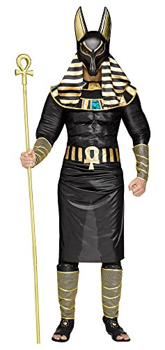 Adult Egyptian God Anubis Muscle Costume (Anubis Halloween Costume)